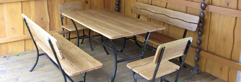 Lauko baldų gamyba